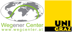 Wegener Center for Climate and Global Change Logo